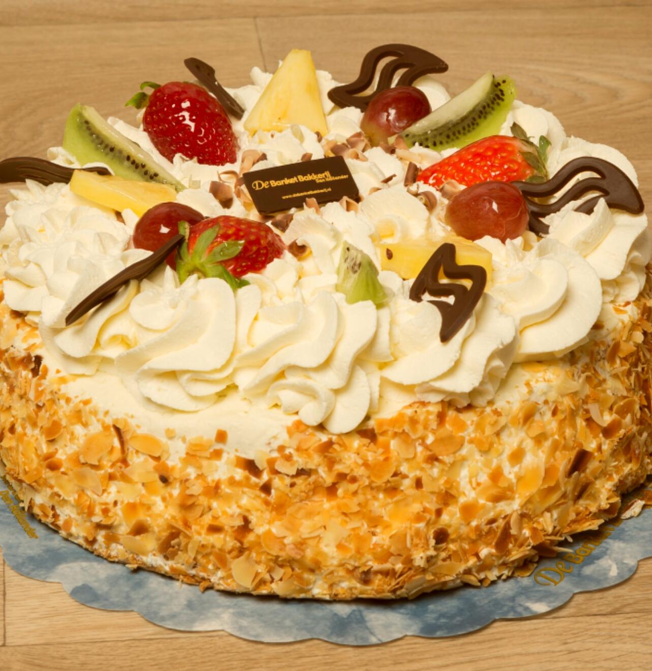 aanbieding taart Aanbiedings slagroom taart   Banketbakkerij Den Hollander aanbieding taart